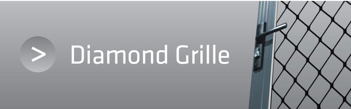 Diamond Grille Security Doors and Screens